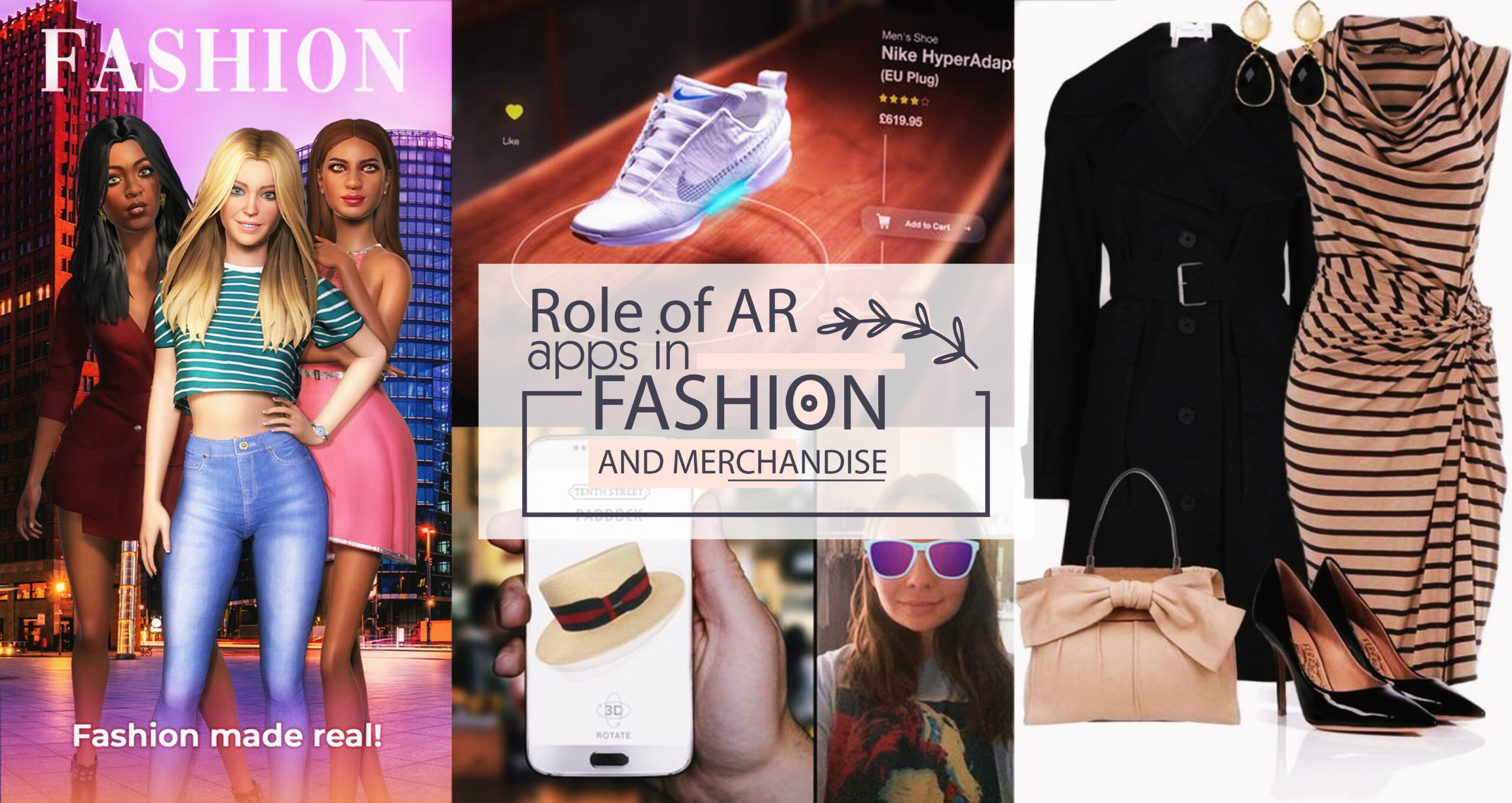 Role of AR apps in fashion and merchandise
