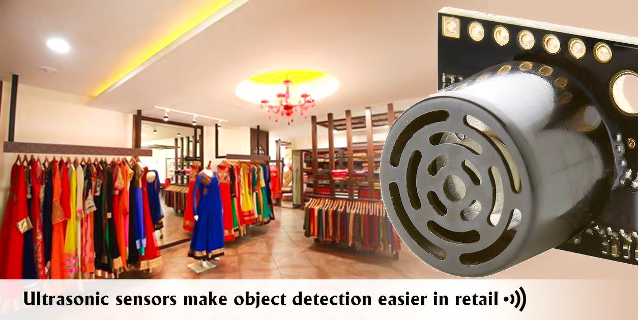 Ultrasonic sensors make object detection easier in retail